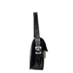 Hermes bag vintage lacleather black palladium 4 Kopie