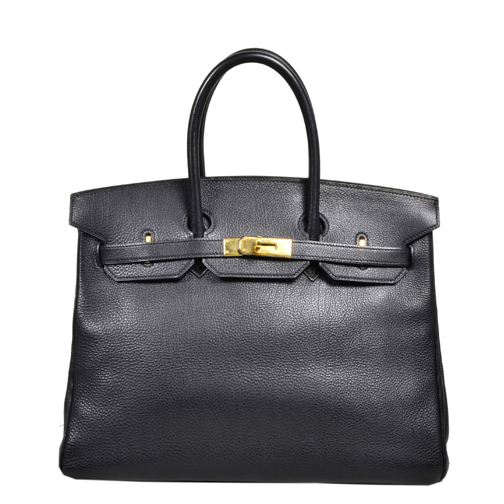 3ca180b17ed ewa lagan - Hermes Birkin 35 Black Togo Leather Gold