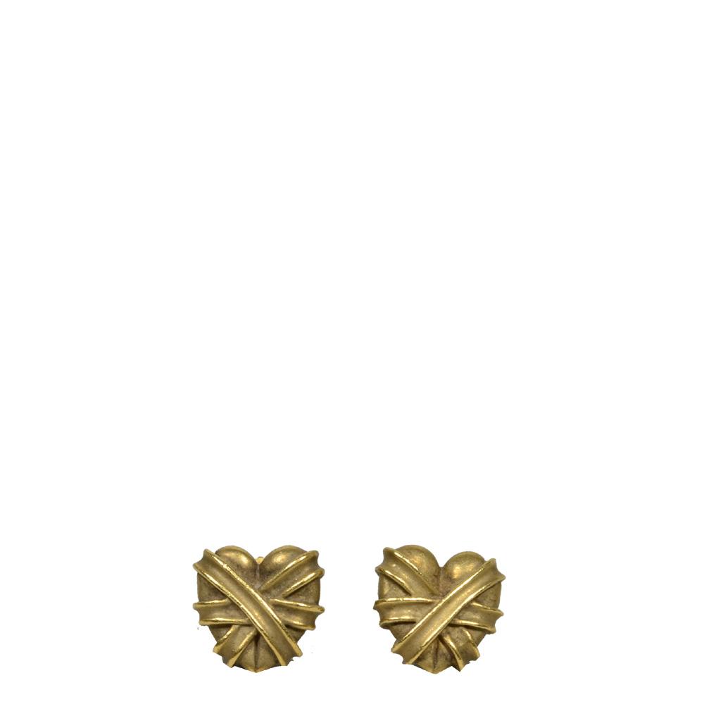 Kieselstein Cord earrings hearts gold_1 Kopie