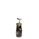 Limoges black grey gold france Peint meine Golf case_1 Kopie