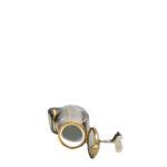 Limoges black grey gold france Peint meine Golf case_4 Kopie