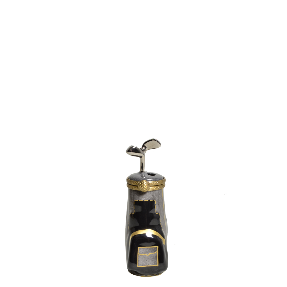 Limoges black grey gold france Peint meine Golf case_5 Kopie – Kopie