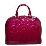 Louis Vuitton Alma Vernis leather LV pink_3 Kopie