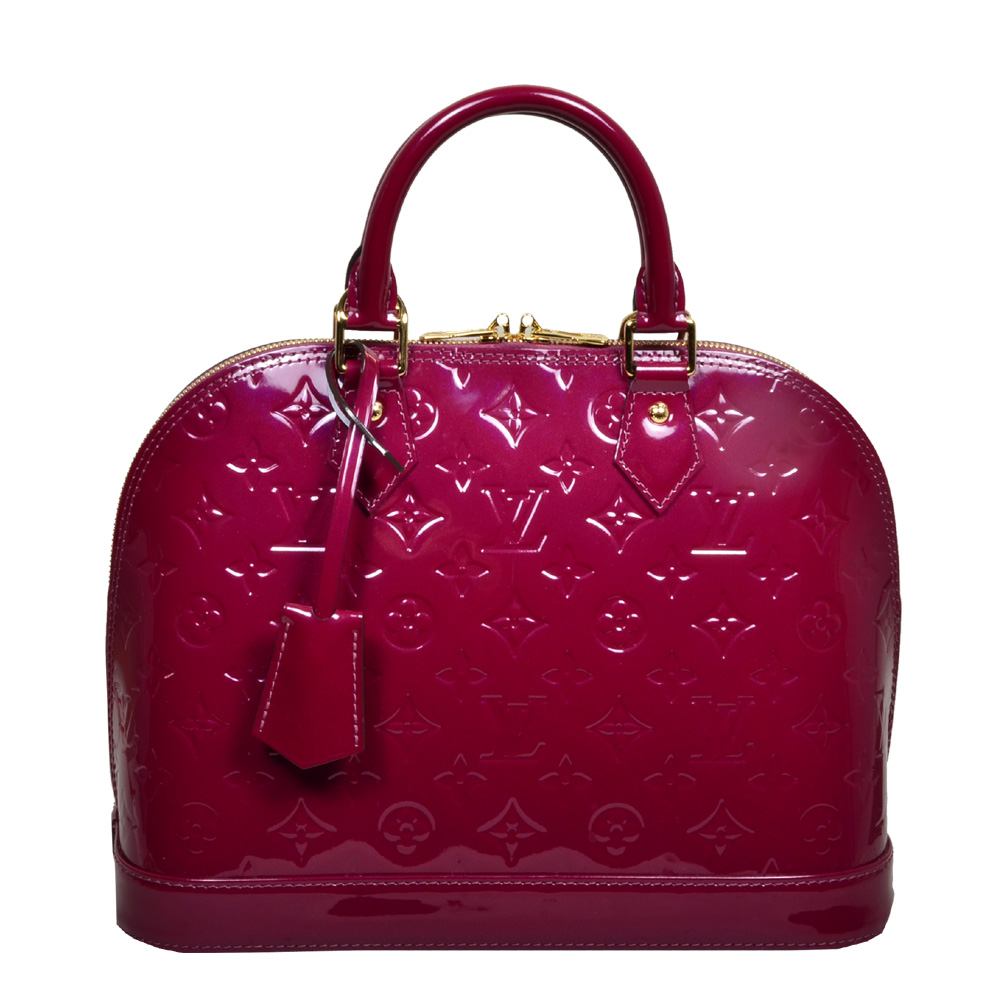 Louis Vuitton Alma Vernis leather LV pink_6 Kopie