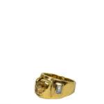 Mandredi ring Mafredi gold Citrine Aquamarin Kopie