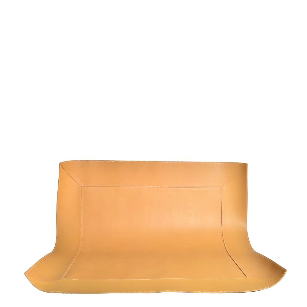 hermes carpet leather cognac 2 Kopie