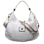 Anya Hindmarch hobobag leather offwhite gold 1 Kopie