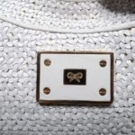 Anya Hindmarch hobobag leather offwhite gold 4