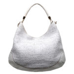 Anya Hindmarch hobobag offwhite gold leather_1 Kopie