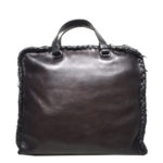 Bottega Veneta Messenger leather dark brown 6 Kopie
