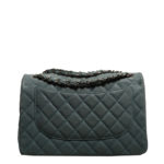 Chanel timeless classic 30 caviar leather mint silver 11 Kopie