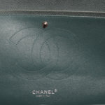 Chanel timeless classic 30 caviar leather mint silver 5 Kopie