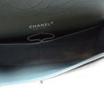 Chanel timeless classic 30 caviar leather mint silver 9 Kopie