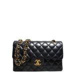 Chanel timeless classic black nappaleather gold 1 Kopie