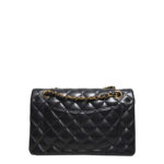 Chanel timeless classic black nappaleather gold 7 Kopie