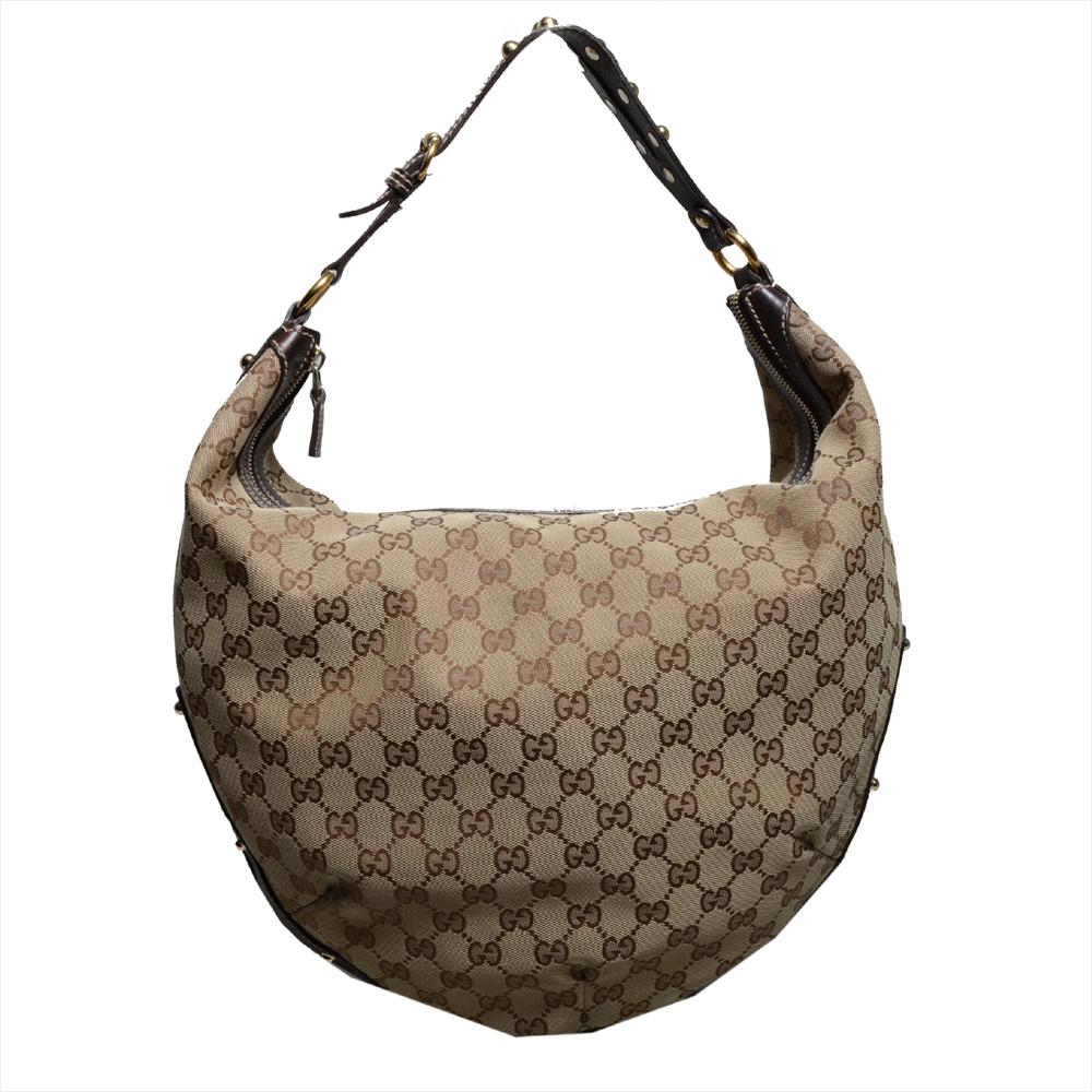 Gucci hobo bag canvas 11 Kopie
