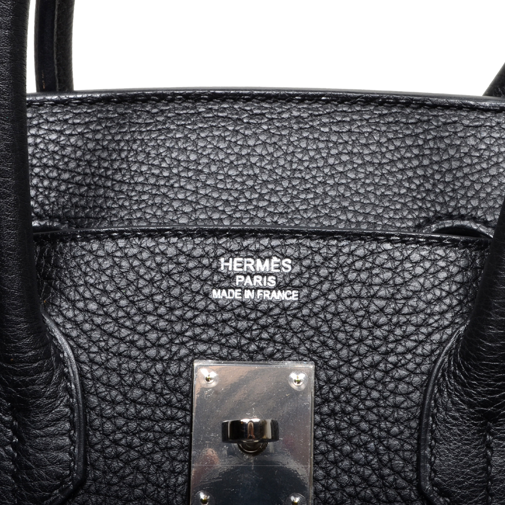 3acafcffd6fa ewa lagan - Hermés Birkin 35 Black Togo Leather Palladium