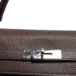 Hermes Kelly 35 togo leather brown retourne 5 Kopie