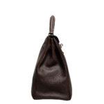 Hermes Kelly 35 togo leather brown retourne 6 Kopie
