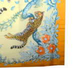 Hermes Pareo leopard yellow cotton_7 Kopie