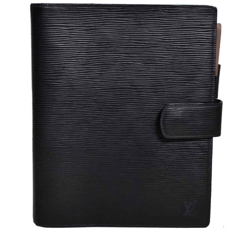 Louis Vuitton Agenda A5 Epi leather black Kopie