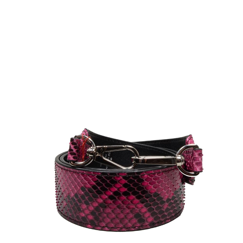 Louis Vuitton Schultergurt rosa, schwarz, schlangenoptik 2 Kopie