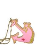 Louis Vuitton necklace marine anchor pink gold Kopie