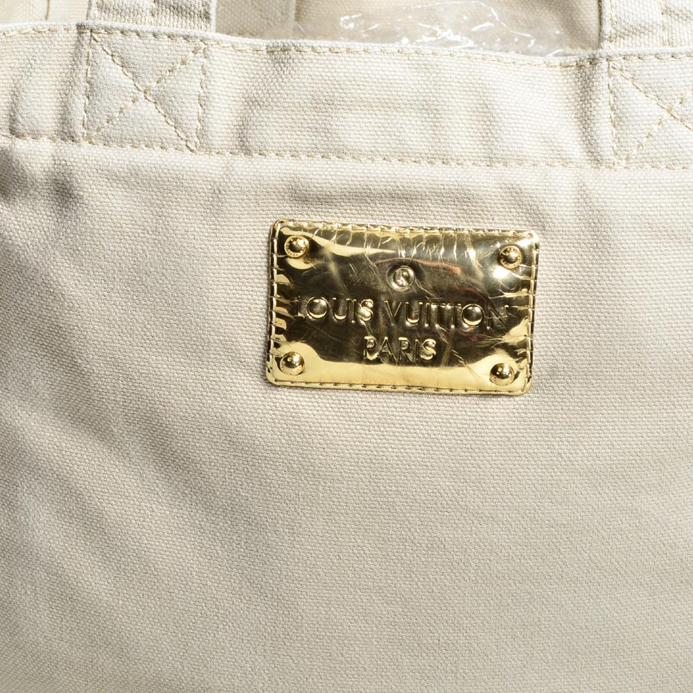 af4d94a96423 Louis Vuitton tote bag PM That´s Love Limited Edition canvas beige10+ Kopie