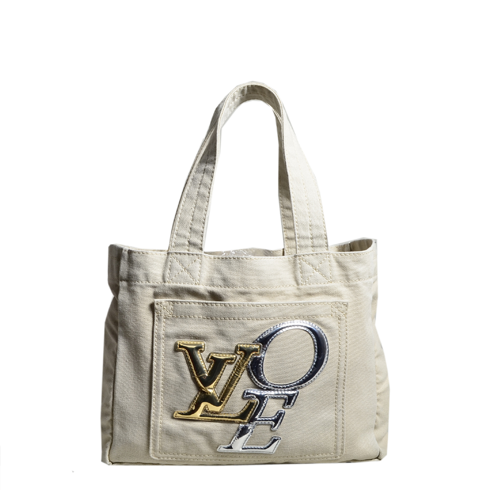 Louis Vuitton tote bag PM That´s Love Limited Edition canvas beige2 Kopie
