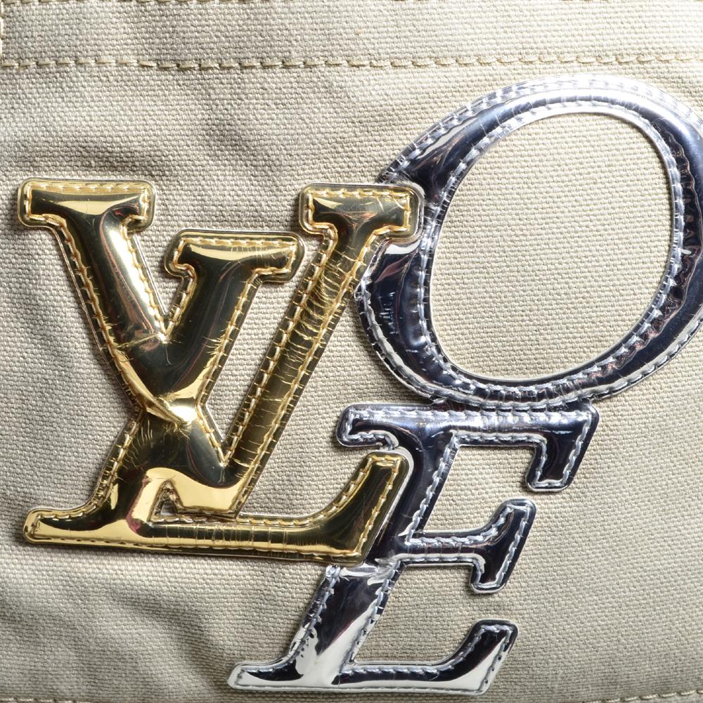 3ce19b624f15 Louis Vuitton tote bag PM That´s Love Limited Edition canvas beige9 Kopie