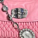 Miu Miu bag rose smoked nappaleather chain silver stones_14 Kopie