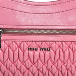 Miu Miu bag rose smoked nappaleather chain silver stones_8 Kopie
