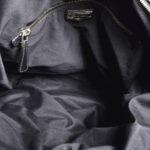 Miu Miu shoulderbag black silver leather_10 Kopie