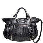 Miu Miu shoulderbag black silver leather_4 Kopie