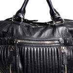 Miu Miu shoulderbag black silver leather_6 Kopie