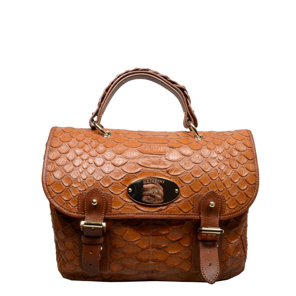 Mulberry bag crossover cognac gold 9 Kopie