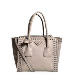 Prada Galliera beige rose rivet leather_1 Kopie