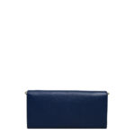Prada Wallet on Chain saffiano leather darkblue gold 5 Kopie