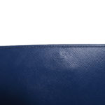 Prada Wallet on Chain saffiano leather darkblue gold 6 Kopie
