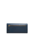 Prada wallet blue gold saffiano leather_2 Kopie