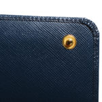 Prada wallet blue gold saffiano leather_7 Kopie