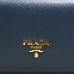 Prada wallet blue gold saffiano leather_9 Kopie