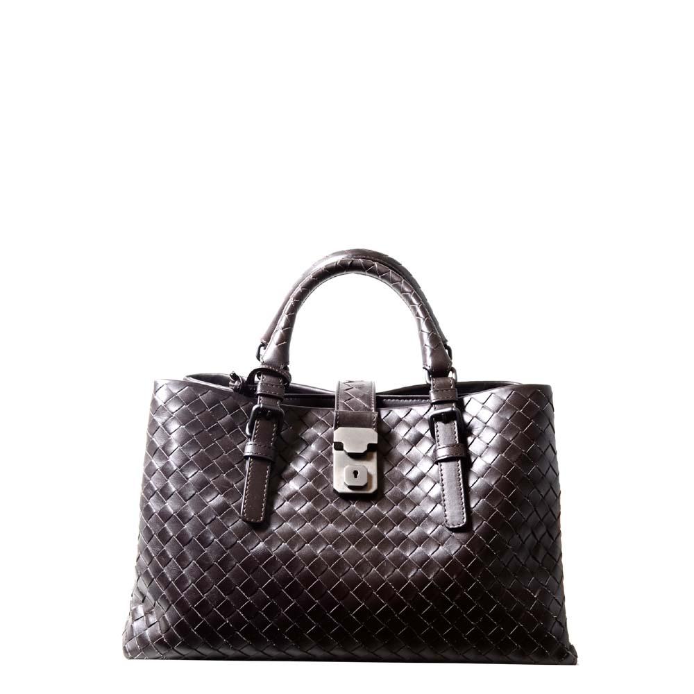 15cf5d5968 ewa lagan - Bottega Veneta Roma woven brown silver leather Archives