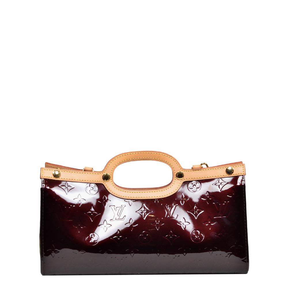 Louis Vuitton Roxbury Drive bordeauxrot vernis leather 4 Kopie