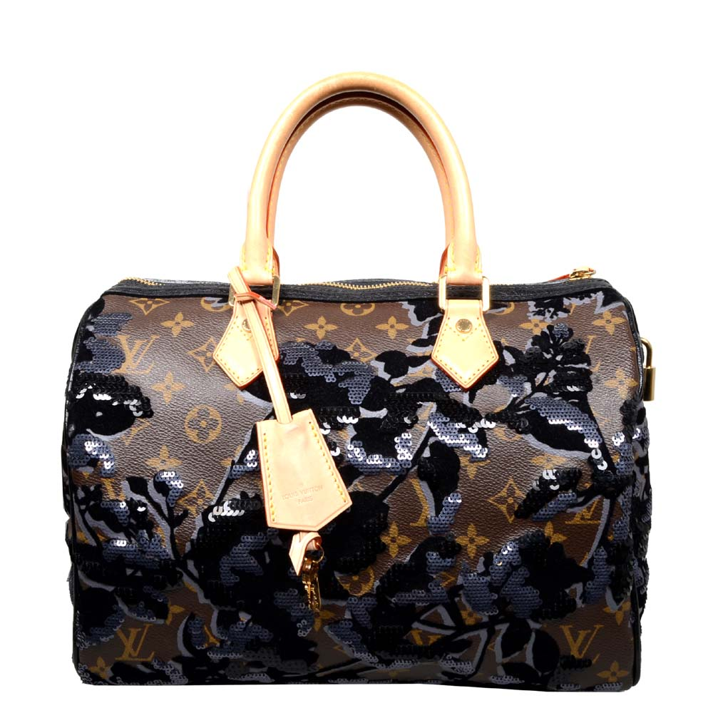 ewa lagan louis vuitton speedy 30 fleur de jais bag tasche. Black Bedroom Furniture Sets. Home Design Ideas