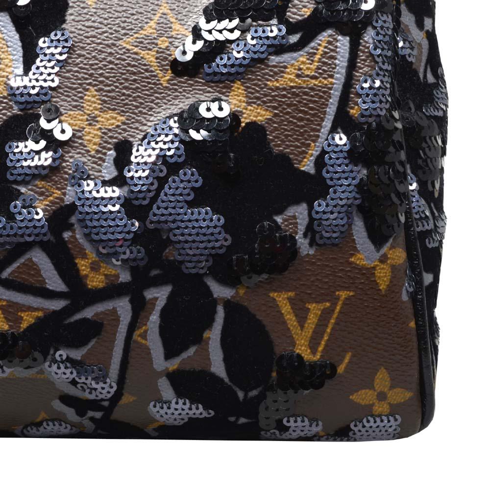ewa lagan - Louis Vuitton Speedy 30 Fleur De Jais Bag Tasche 8c6e796320bd1
