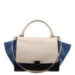CelineTrapez Bag black blue beige 1 Kopie