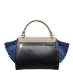 CelineTrapez Bag black blue beige 3 Kopie