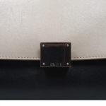 CelineTrapez Bag black blue beige 7 Kopie