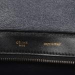 CelineTrapez Bag black blue beige 8 Kopie